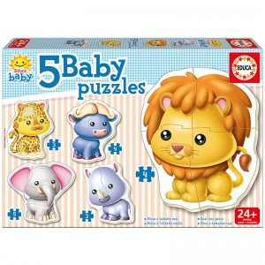 Baby puzzle savage animals