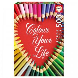 Colour Your Life puzzle 500pcs