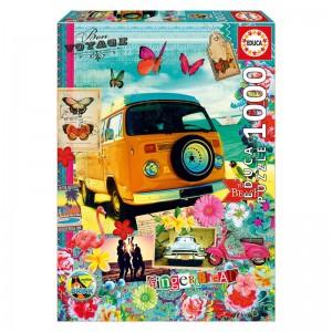 Bon Voyage puzzle 1000pcs