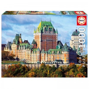 The Chateau Frontenac Canada puzzle 1000pcs