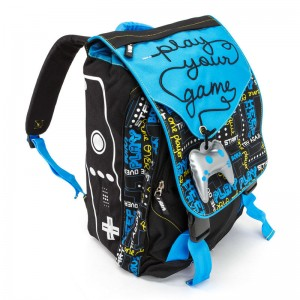 Spirit Go Gamers backpack with flap
