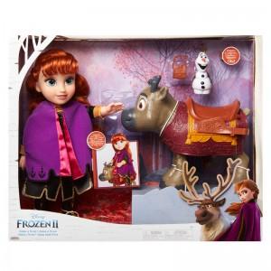 Disney Frozen 2 Anna & Sven & Olaf set dolls 35cm