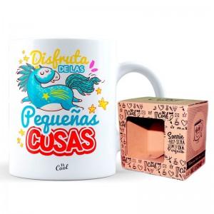 Disfruta De Las Pequeñas Cosas mug