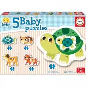 Baby puzzle animals