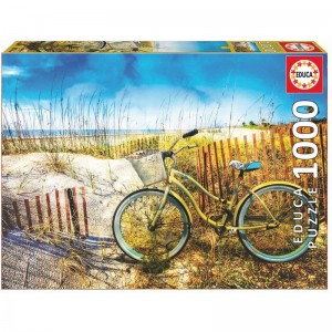 Bike in the Dunes puzzle 1000pcs