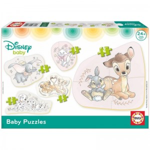 Baby puzzle Animals Disney