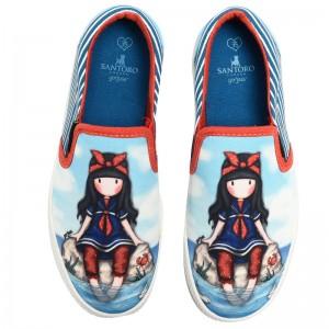 Gorjuss blue sport shoes