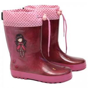 Gorjuss Ladybird rubber rainboots