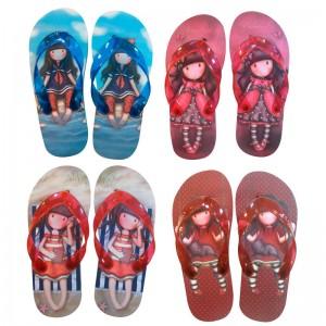 Gorjuss assorted flip flops