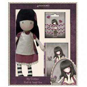 Gorjuss purple gift set