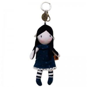 Gorjuss You Brought Me Love plush keychain