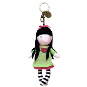 Gorjuss Heartfelt plush keychain
