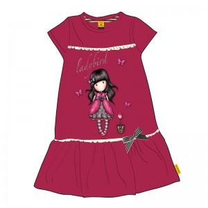 Gorjuss fuchsia dress