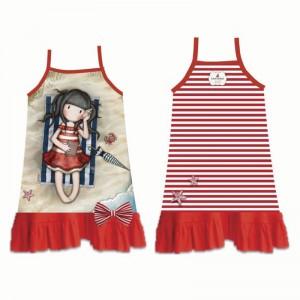 Gorjuss red beach dress