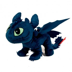 How To Train Your Dragon Toothless soft plush 26cm