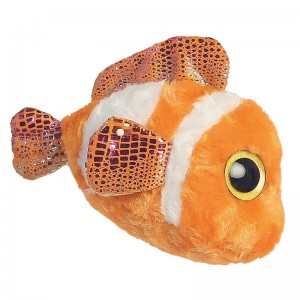 Plush Toy Clown fish Yoohoo & Friends Glittering Eyes 13cm