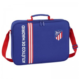 Atletico Madrid Blue school briefcase
