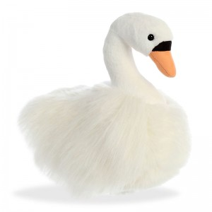 Swan soft plush toy 30cm