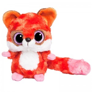 Plush Toy Red Fox Yohoo & Friends Glittering Eyes 20cm