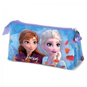 Disney Frozen 2 Journey triple pencil case