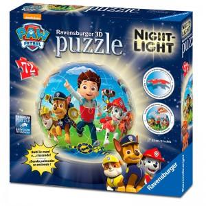 Paw Patrol Puzzle lamp 72pz