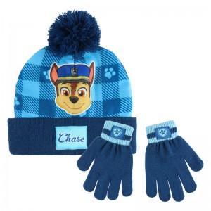Paw Patrol set hat gloves