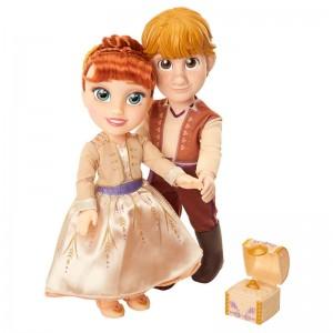 Disney Frozen 2 Anna & Kristoff set 2 dolls 35cm