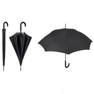 Auto open Black 61cm umbrella