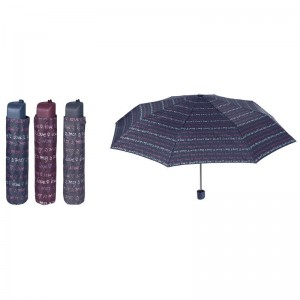 Manual folding assorted Love 54cm umbrella