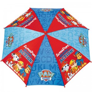 Windproof Paw Patrol 42cm umbrella with safety open