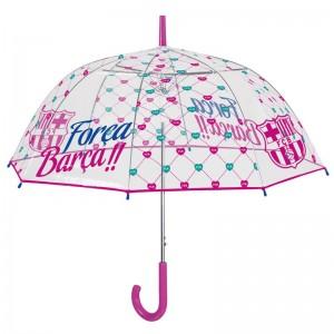 FC Barcelona auto open bubble POE 61cm umbrella