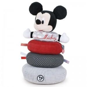 Disney Baby Mickey soft plush stacking rings