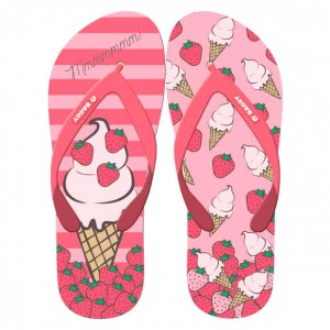 Baggy Ice Cream flip flops