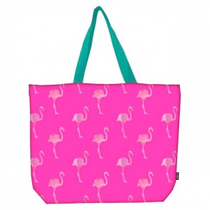 Baggy Flamingos beach bag
