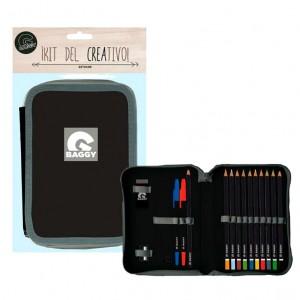 Baggy black pencil case