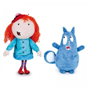 Peg & Cat assorted plush toy 25cm