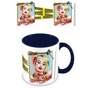 DC Comics Birds of Prey Harley Quinn Warning mug