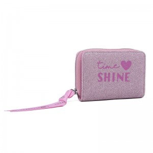 Marshmallow Shine in Pink wallet