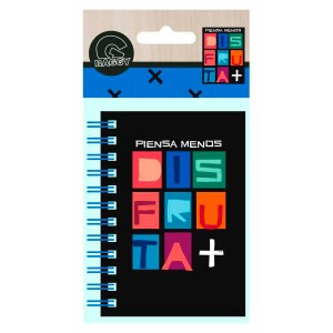 Baggy Disfruta A7 notebook carboard side