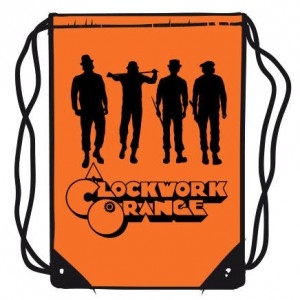 Clockwork Orange gym bag 45cm