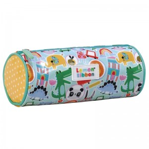 Lemon Ribbon Friendly World pencil case