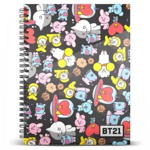 BT21 A4 notebook