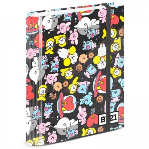 BT21 A4 cardboard with sheets