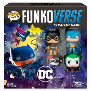 POP Funkoverse Spanish board game DC Comics 4pcs