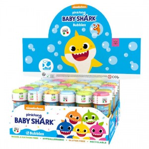 Baby Shark assorted bubbles