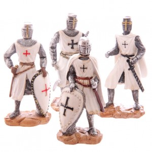 Crusader Knight assorted figure