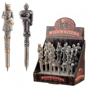Armoured Knight assorted topper pen