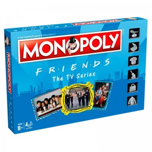 Friends monopoly game