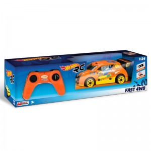 Hot Wheels Fast 4WD radio control car