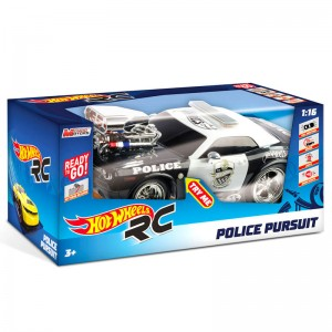 Hot Wheels Police Pursuit radio control car